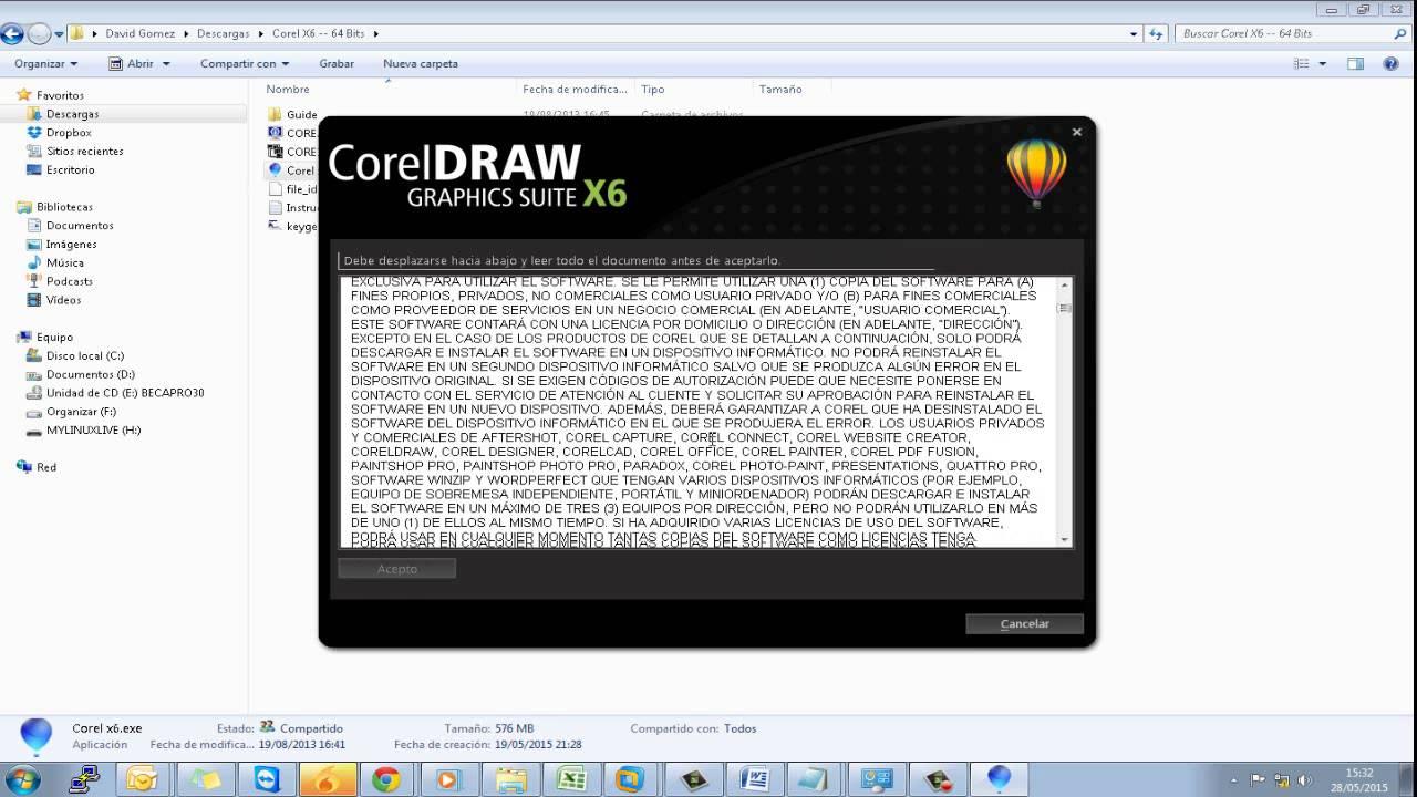 como instalar corel draw x5 con keygen