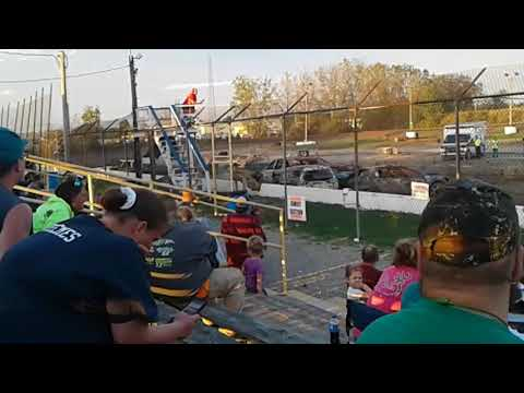 2017 Genesee speedway  Fall Compact Demolition derby Batavia NY