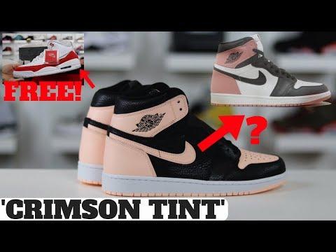 a9d20734e150 AIR JORDAN 1 RETRO HIGH OG  CRIMSON TINT  REVIEW! Shop best sneaker deals  of the week here! http   bit.ly 2kuwqFv. Social Media for Heskicks