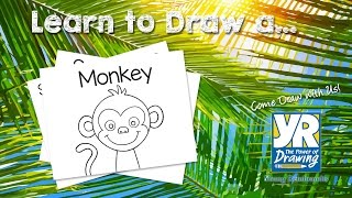 Teaching Kids How to Draw: How to Draw a Monkey