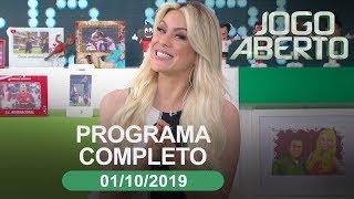 Jogo Aberto - 01/10/2019 - Programa completo