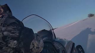 Снегоход Тайга варяг 500 по следам зверей