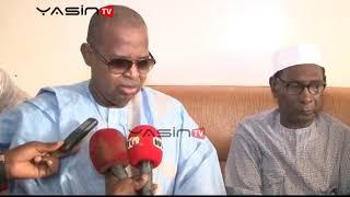 Le PDG  du groupe Walfadjiri à Ndiassane pour presenter ses condoléances