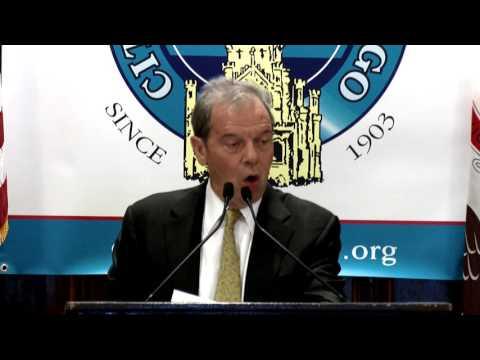 Senate President Cullerton Speaks To City Club