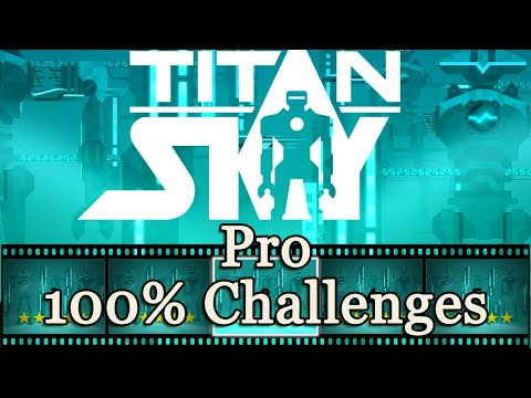 """OlliOlli 2: Welcome to Olliwood - Pro """"Titan Sky"""" 100% Challenges"""