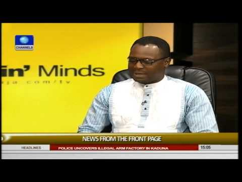 Rubbin' Minds Review Of Nigerian Newspaper Front Page News -- 02/08/15 Part 1
