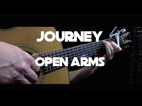 Journey - Open Arms - Fingerstyle Guitar