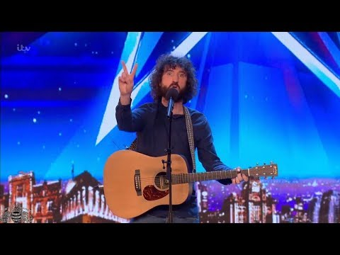 Britains Got Talent 2018 Micky P Kerr Hilarious Comedic Musician Full Audition S12E06