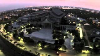 Tzu Chi Center Jakarta. Music: Yi Jia Ren (Drone video)
