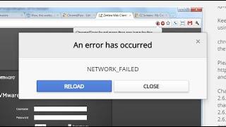 """Cara mengatasi """"Network Failed"""" pada Webstore Google Chrome - Tutorial Video thumbnail"""