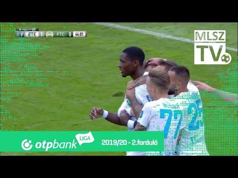 Ikoba Eduvie gólja a ZTE FC – Ferencvárosi TC mérkőzésen