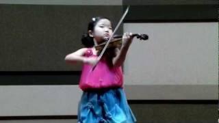 박지언  Mozart Violin Concerto No.3 모짜르트 바이올린협주곡 3번 1악장