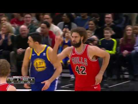 Robin Lopez and Nikola Mirotic combine for 40 points vs. Golden State (01.17.18)