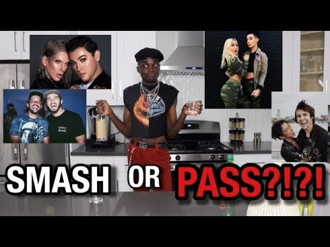 DRUNK YOUTUBER SMASH OR PASS!!!(I may regret this.....)