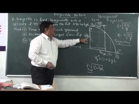 XI-4.8.Projectiles part-1,(2014) Pradeep Kshetrapal Physics