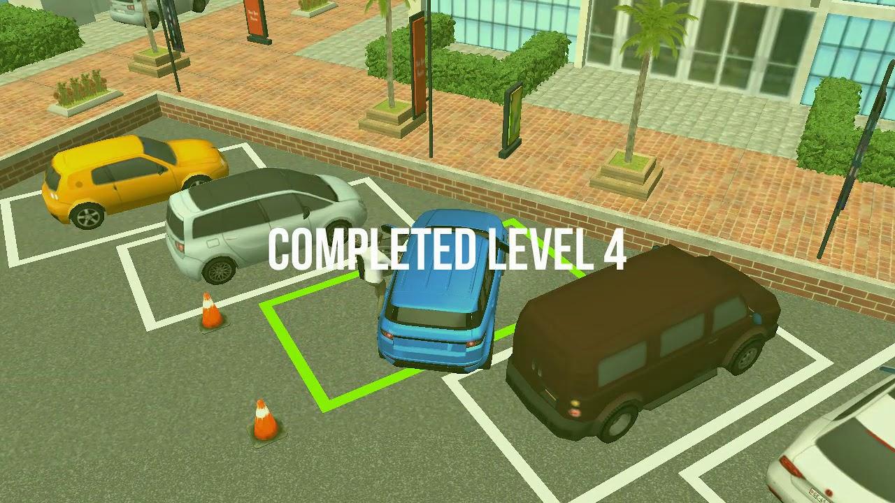 Jeux De Voiture Simulation Ce Garer Sur Un Parking Youtube