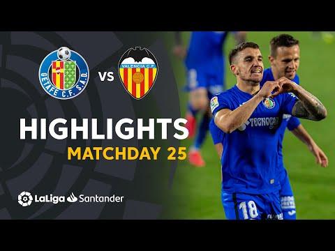Getafe Valencia Goals And Highlights