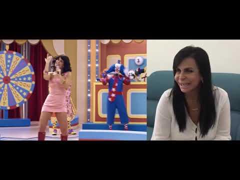 """Emanuelle Araújo e Gretchen no hit """"Conga, Conga, Conga"""""""