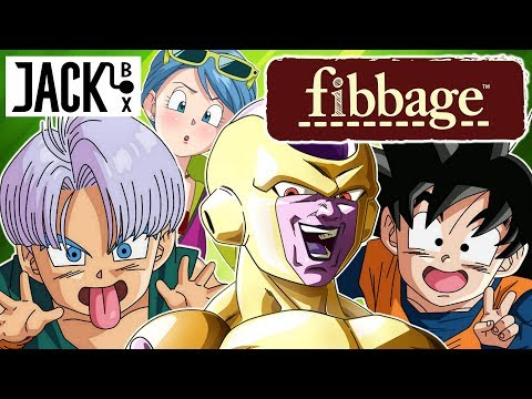 Frieza, Goten And Trunks Play Fibbage Dragon Ball Edition | Jack Box