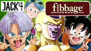 Frieza, Goten and Trunks Play Fibbage Dragon Ball Edition | Jack Box