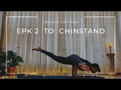 epk 2 to ganda bherundasana/chinstand transition arm