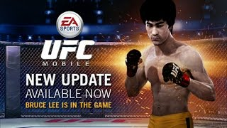 EA SPORTS - UFC android gameplay w/ BRUCE LEE  (gaming tips) 1080p