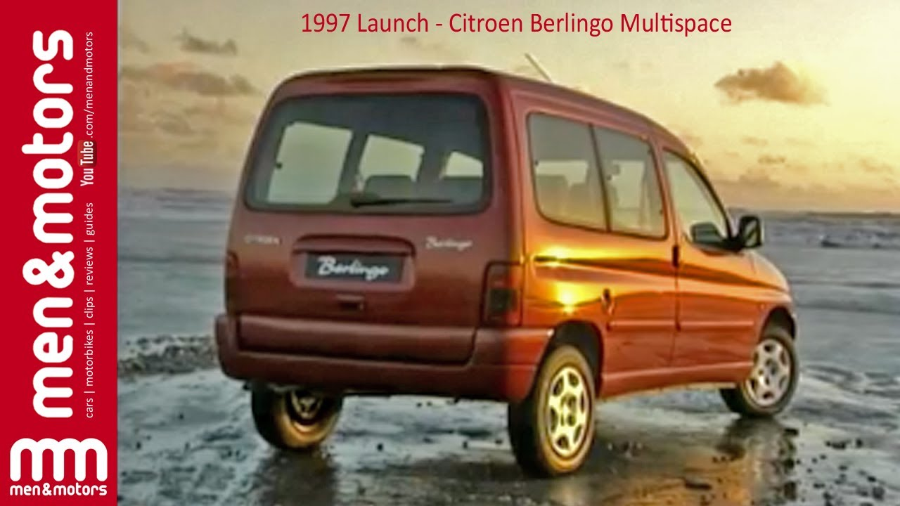 1997 launch citroen berlingo multispace youtube. Black Bedroom Furniture Sets. Home Design Ideas