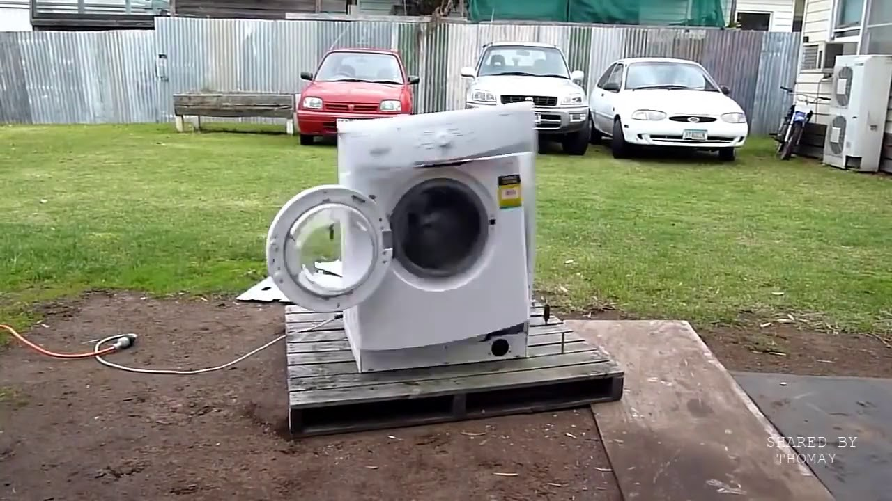 Test độ bền của máy giặt.  www.dienlanhtayninh.net – 0966.073.073