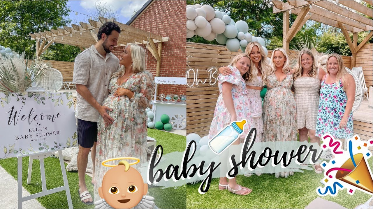 OUR BABY SHOWER 2021! He's Nearly HERE! *VLOG* | Baby Shower Haul