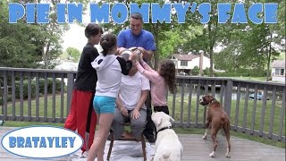Pie in Mom's Face | 1 Million Subscriber Celebration! (WK 228.3) | Bratayley