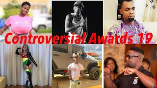 Shatta Wale, Shatta Bandle, Cardi B Others For Controversial Awards 2019 | Entamoty Live