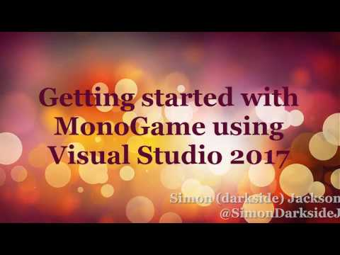Getting Started with MonoGame on Visual Studio 2017