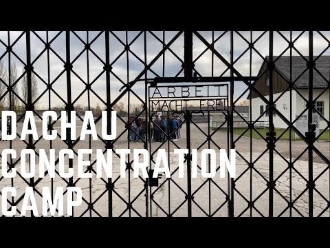 WWII First Nazi Concentration Camp | Dachau | 4K UHD Walking Tour | WanderingWithTheWalkers