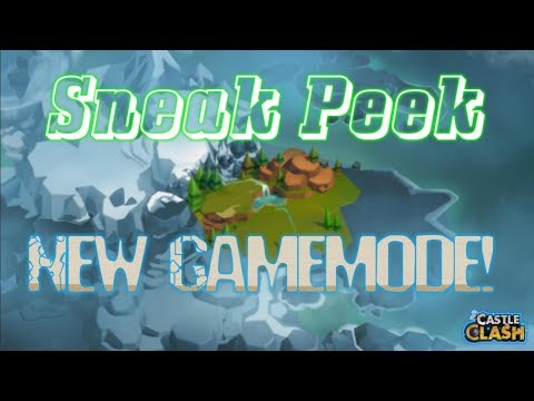 Sneak Peek New GAMEMODE! Castle Clash