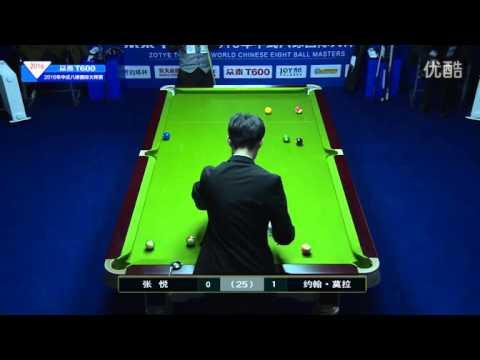 John Morra VS Zhang Yue - 2016 World Chinese 8 Ball Masters