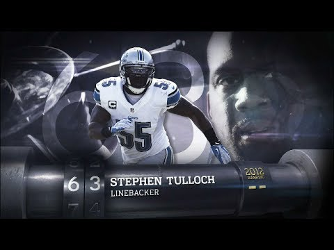 #63 Stephen Tulloch (LB, Lions) | Top 100 Players Of 2013 | NFL