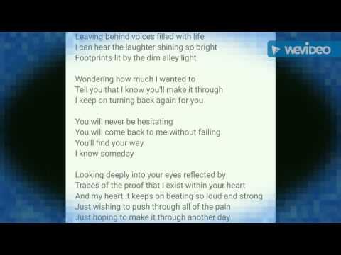 Shirushi English Version Lyrics