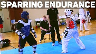 Tips to Increase Endurance for Sparring!