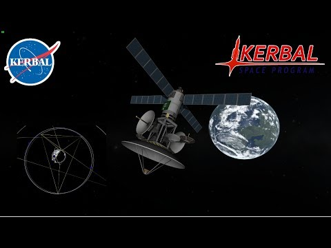 KSP - Geosynchronous Orbit - Creating a Comms Network