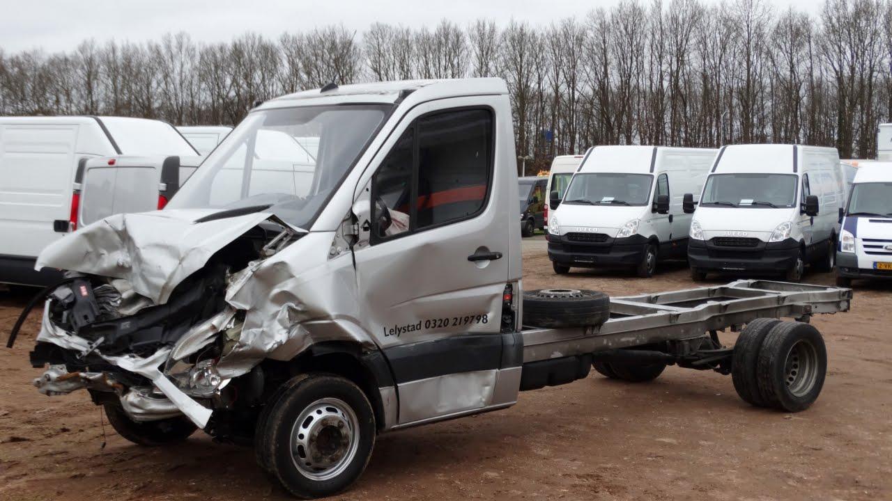 Mercedes benz sprinter 516cdi chassis cabine motor schade for Mercedes benz sprinter chassis
