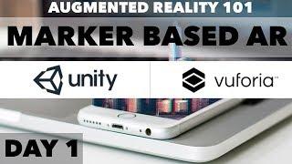 Vuforia Ve Birlik (AR) 1: Arttırılmış Gerçeklik Eğitim - Marker tabanlı AR