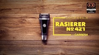Unboxing CARRERA Rasierer No.421