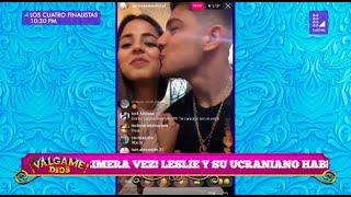Luciana Fuster Y Emilio Jaime Ya Se Tratan De 'amor' Y Se Dan Besos Frente A Todos