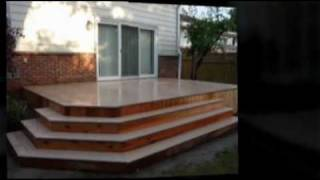 Toronto Deck Builder Builds Custom Azek/cedar Deck