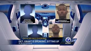 Officer Jacob Grant Treatment Update