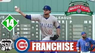 MLB 14: The Show (PS4) Chicago Cubs Franchise - EP14 (vs Reds, Red Sox)