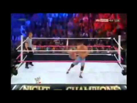WWE Night of Champions 2012 Highlights HD