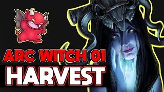Let's Play Harvest League Ep:01 Arc Witch Path of Exile Gameplay