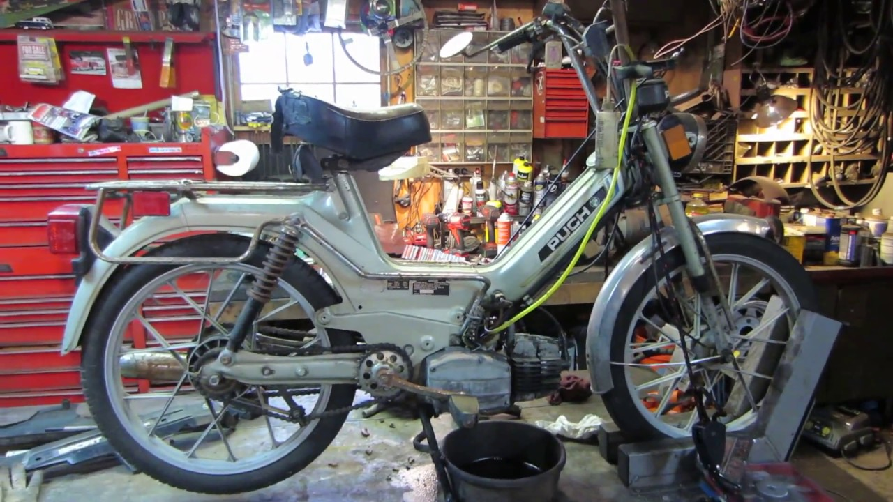 puch moped repairs part A