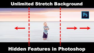 How to UNLIMITED Background Stretching Quick Tricks in Photoshop